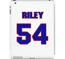 National football player Butch Riley jersey 54 iPad Case/Skin