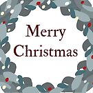 Christmas Wreath by Claire Elford