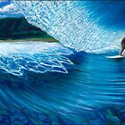 Kalani Deep, Pipeline Hawaii by Clark Takashima