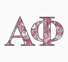 Alpha Phi Lilly Letters by emmytyga