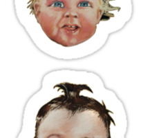 Swans - Baby Icons Sticker