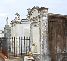 New Orleans Crypts by Martha Sherman