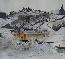 Scarborough Spa in the Winter by Rod Buckle
