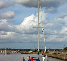 River Blyth Southwold by Kawka