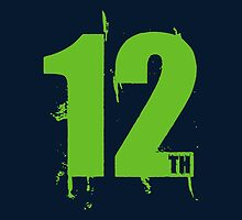 12th Man (Action Green) by Sportswear