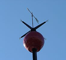 Greenwich Royal Observatory weathervane by MisterD
