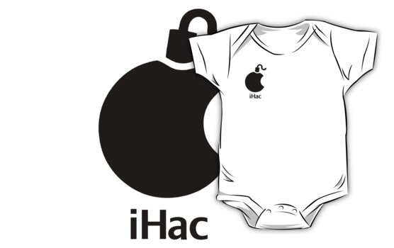 iHac(k) - Black Artwork by Ron Marton