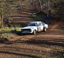 mk 2 ford escort rally car by ashvts