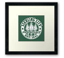 Starling City Arrows Version V02 Framed Print