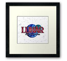 Lunar The Silver Star (Sega CD) Title Screen Framed Print
