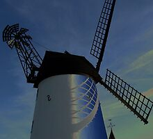 Treated Windmill by CiaoBella