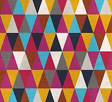 Triangles Design Colors by franciscovalle