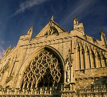 Exeter Cathedral by MrAlpha