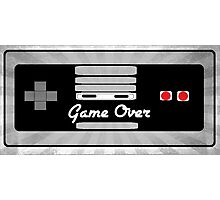 Nintendo Controller Game Over Photographic Print