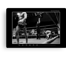 Boxing - Knock out Canvas Print