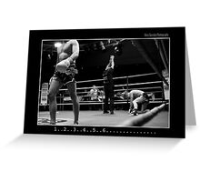 Boxing - Knock out Greeting Card