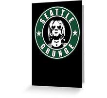 Seattle Grunge Greeting Card