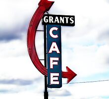 grants cafe, route 66, grants, new mexico by brian gregory