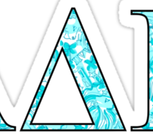 ADPi Lilly Letters Sticker