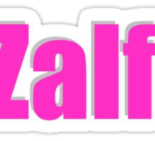 Zalfie Sticker