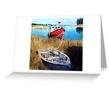 Wetland Taxi Greeting Card