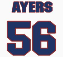 National football player Akeem Ayers jersey 56 by imsport