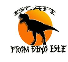 Escape from Dino Isle by Supercilious