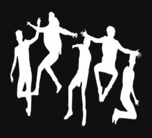 boyband silhouette  by ollysdirection