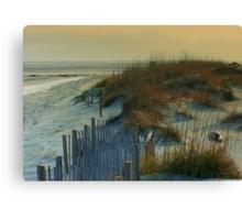 Sand Dunes of Tybee Island Canvas Print