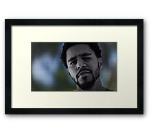 J. Cole New Legend Poster  Framed Print