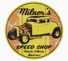Milner's Speed Shop by superiorgraphix