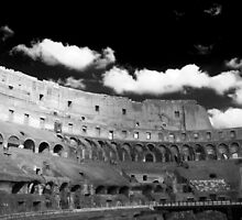 Ghost of the Colosseum by Kent Nickell