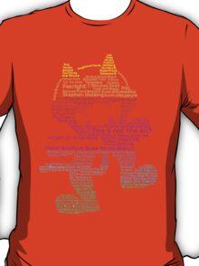 MONSTERCAT Typography  T-Shirt
