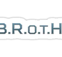 B.R.O.T.H. Beast Rebels of the Hellscape Sticker