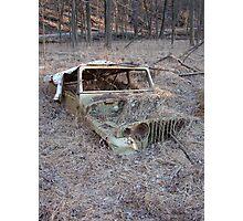 Jeep Graveyard Photographic Print