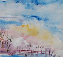 blue winter by ginatin2000