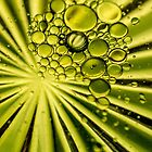 Green bubbles by LudaNayvelt