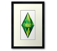Sims: Space Framed Print