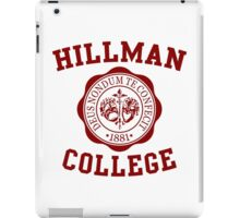 Hillman iPad Case/Skin