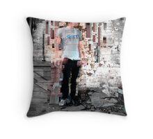 Hallucinogenic Disturbance Throw Pillow
