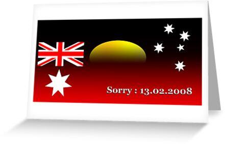 Australia is sorry : 13.02.2008 by Arthur Carley