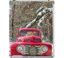 Christmas Joy Ride iPad Case/Skin