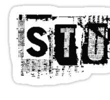 Stuff Sticker