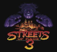 Streets of Rage 3 (Genesis) Mr. X by AvalancheShirts