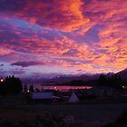 Sunset in Lake Tekapo by Jennifer Lycke