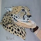 Blind Cheetah by Alexart