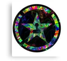 Psychedelic Achievement Hunter Canvas Print