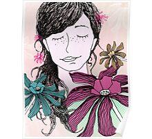 Choose flowers-02 Poster