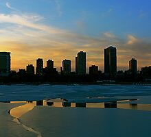 The Freezing of Lake Michigan by Kate Purdy