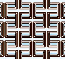 Chocolate Links Wallpaper by Lisa Taliana